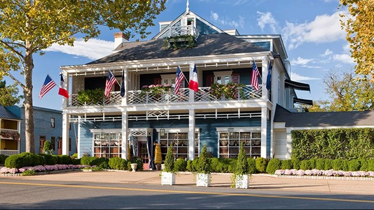 The Inn at Little Washington is the first-ever three-starred restaurant for the area.