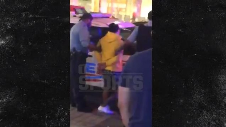 WBA featherweight champion Gervonta Bryant Davis, 23, was seen arguing in close proximity with Ricardo Jose Rodriguez in the 1700 block of M Street.