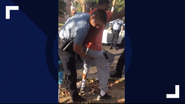 DC police firing officer for improper body search at center of viral video
