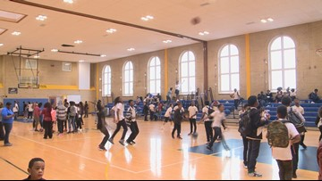 Helping find mentors for students at Kramer Middle School in SE DC