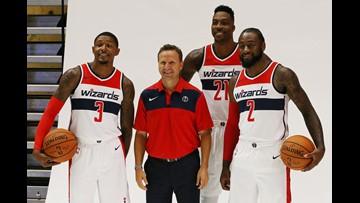 Who's got the most swagger on the Wizards?