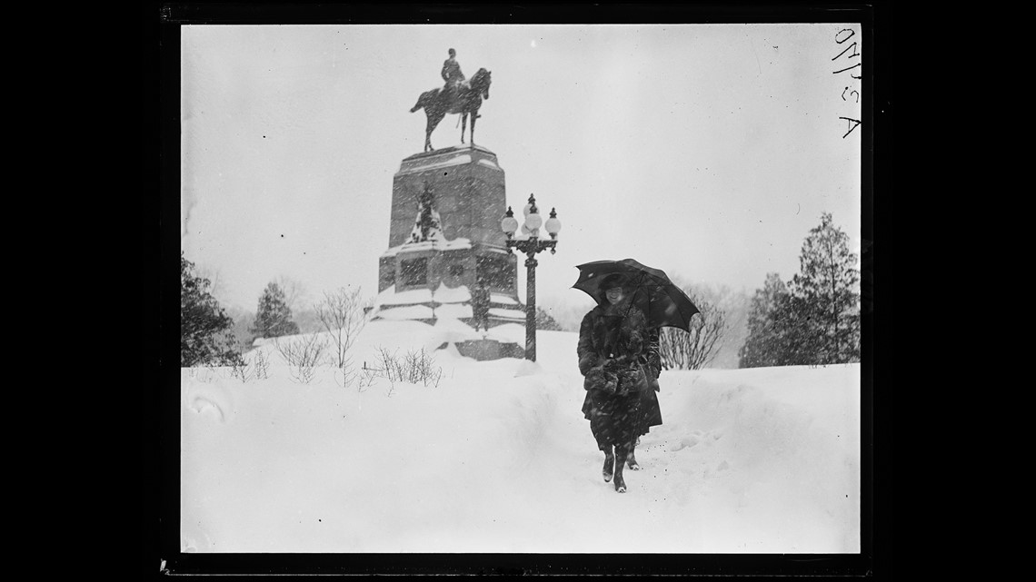 Image result for snow blizzard pictures of d.c. 1966