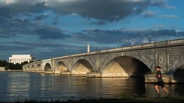 Arlington Memorial Bridge will be closed to cars, bikes & pedestrians this weekend