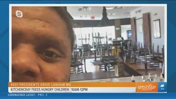 Despite being shut down KitchenCray is feeding children for free