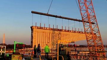 Drawbridge no more: Memorial Bridge's interior machinery is removed for good