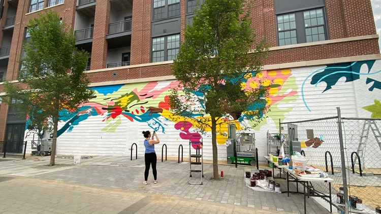 New DC mural inspired by women in STEM fields   It's A DC Thing