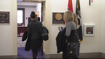 Military families demand housing help from lawmakers on Capitol Hill