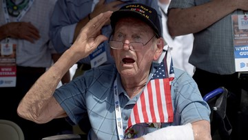 Vice president honors D-Day troops at the national memorial you may never have heard of