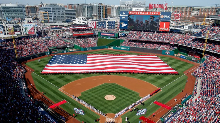 Nationals to play games at Nats Park without fans, for now