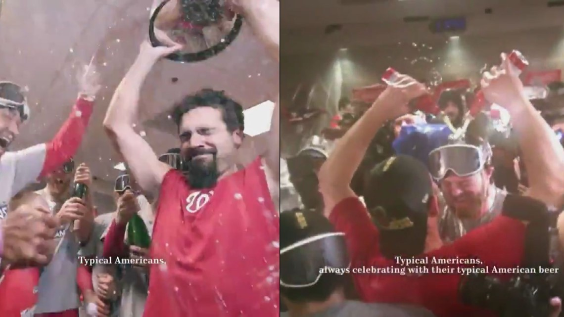 Aaron Barrett and the Nationals are in a Super Bowl commercial