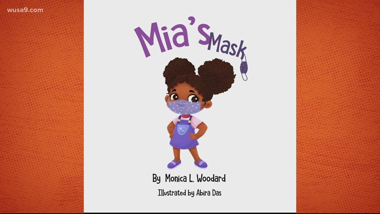 Maryland author pens kids' book about wearing a face mask | Get Uplifted
