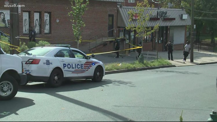 Police: 5 shot, including a 13-year-old boy, in Southeast DC