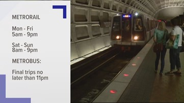 Metro cutting back service hours