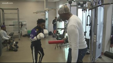 Boxer regains his form at Southeast, DC training gym