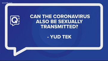 Can the Coronavirus also be sexually transmitted?