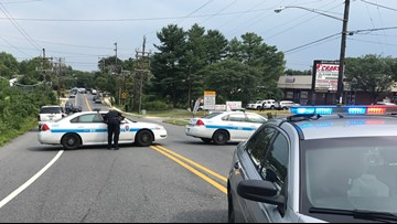 Person shot following 100-person fight at funeral in Suitland, police say