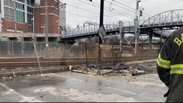 Man dies in portable toilet fire at Baltimore Ravens stadium