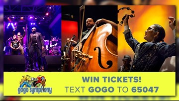 Win tickets to the Go Go Symphony