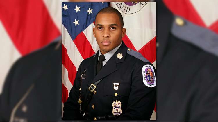 Prince George's County Police Officer Ryan Macklin