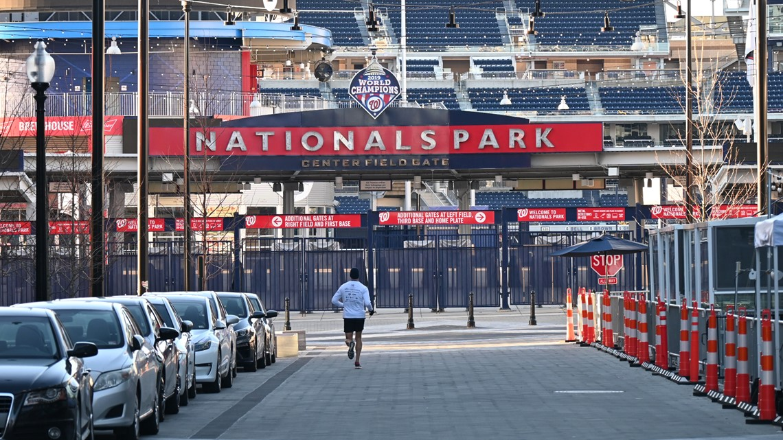 Nats get green light for home games, but no fans allowed yet