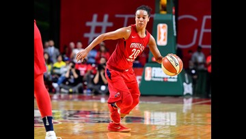 WNBA All-Star Toliver hired by NBA's Wizards as assistant