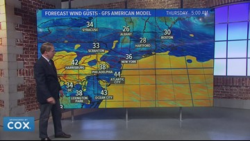 Planning to travel for Thanksgiving night? Another big storm in the west will cause delays