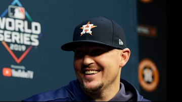 From foe to teammate: Former 'Stros pitcher Will Harris agrees to three-year deal with Nationals