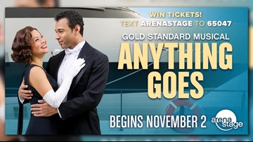 Win tickets to see Anything Goes at Arena Stage
