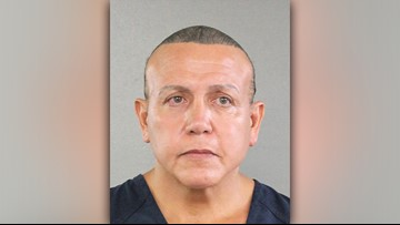 Man accused of mailing bombs to prominent Democrats in court Monday
