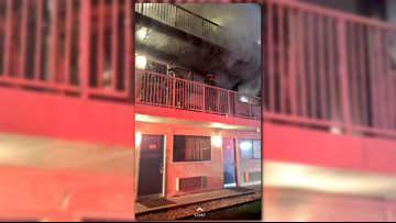 Motel 6 in Gaithersburg evacuated after fire breaks out