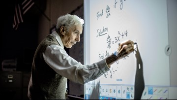 In 60 years, a legendary Virginia math teacher has touched thousands