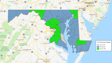 Maryland sees modest bump in voter turnout amid contentious midterm