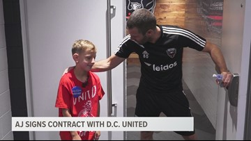 D.C. United helps make a wish come true