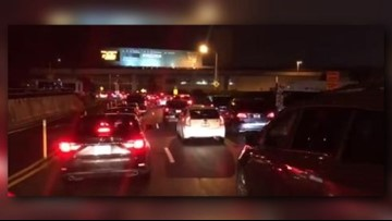 'Unprecedented' factors halted airport traffic on Friday, officials say