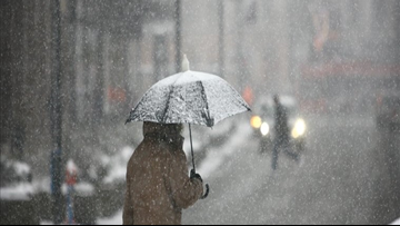 Nor'easter to bring a wintry mix to parts of the DMV