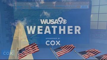 Nestor moving ashore in Florida, will bring rain to DMV Sunday