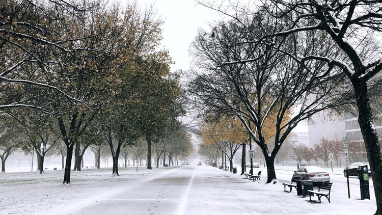 Did this snow catch you off guard? Here's what happened