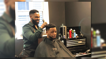 More than a barber: Maryland man becomes success installing weaves for men