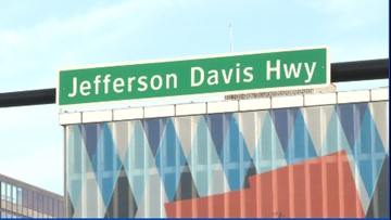 Should Amazon ask Virginia to change the name of Jefferson Davis Highway in Crystal City?