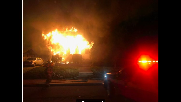 Two dead in tragic Thanksgiving-eve fire in Bethesda
