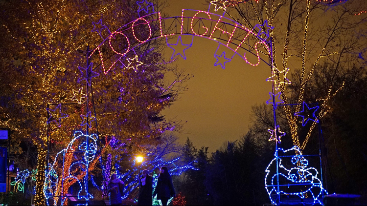 The National Zoo is decorated for the Christmas Season on December 8, 2014  in Washington, DC. 'ZooLights', when the zoo is illuminated by over 500,000  LED ... - The 7 Most Instagram-worthy Holiday Light Shows In The DC Area