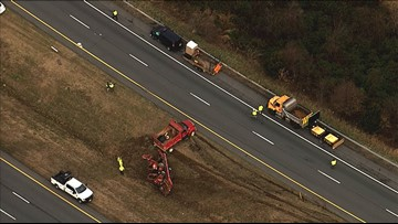 1 inmate killed, 3 others injured working roadside on I-70 in Frederick Co.