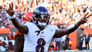 Ravens quarterback Lamar Jackson files trademark applications after MVP-caliber season