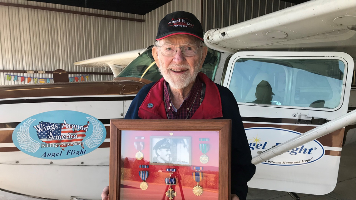 95-year-old veteran and pilot back in the air after donations pour in to fix plane