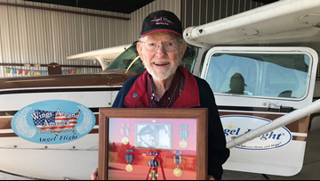 95-year-old WWII pilot grounded from flying medical patients to hospitals