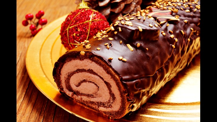 Chocolate Buche de Noel