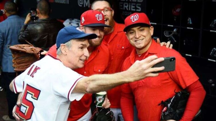 'Science on our side' | Bill Nye announces starting lineup for Washington Nationals