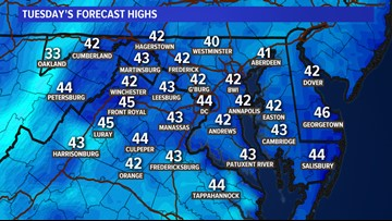 Chilly days, cold nights --- rain returns Friday PM
