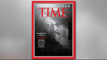 Capital Gazette staff, Washington Post writer among those named as TIME 2018 person of the year