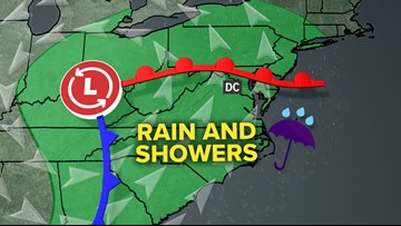 Even more rain for DC's wettest year
